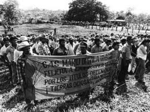Se aprobó una ley de Reforma Agraria