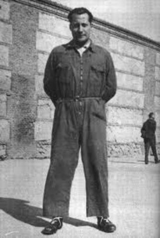 Jose Antonio, primo de Rivera, fue detenido.