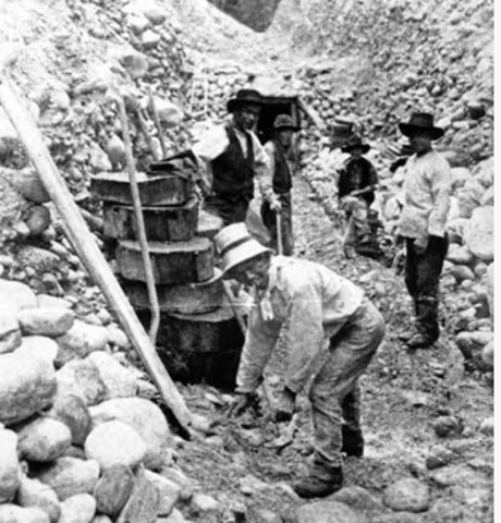 Whites Attack Chinese Miners