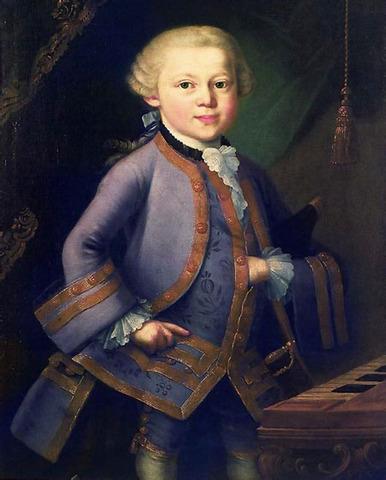 El nacimiento de Mozart