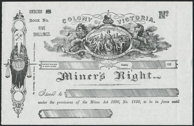 Miner's Rights