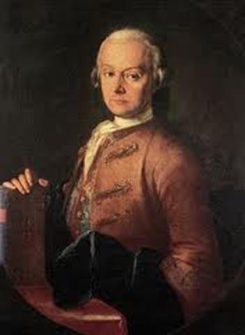 Fallece el padre de Mozart