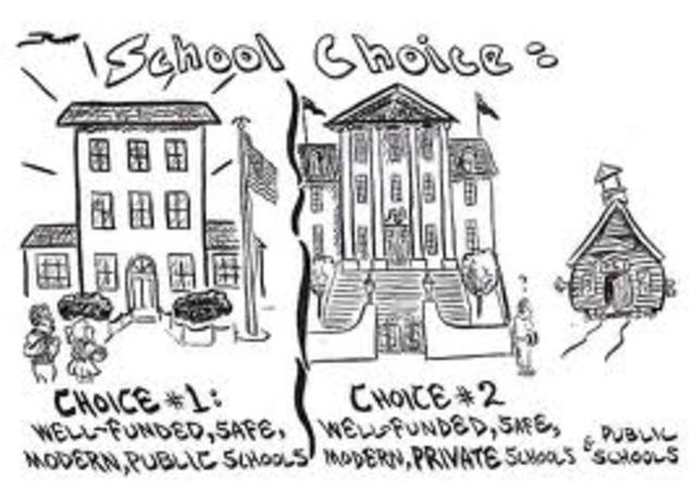 Junior high school choice