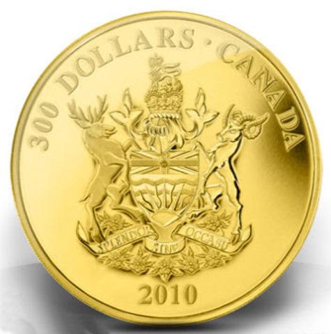 Gold in British Columbia