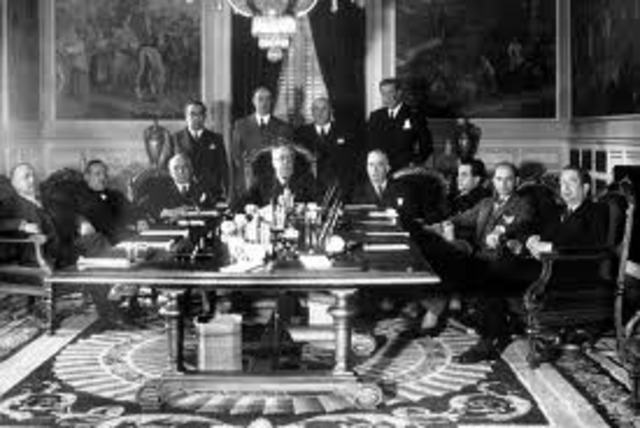 Celebración del Consejo de Ministros