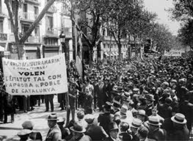 Comienza el debate en Cortes del Estatuto Catalán.