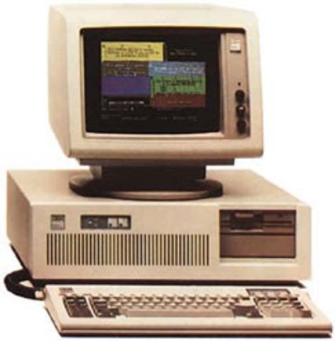 la cuarta generacion de computadoras  y el primer computador de escritorio