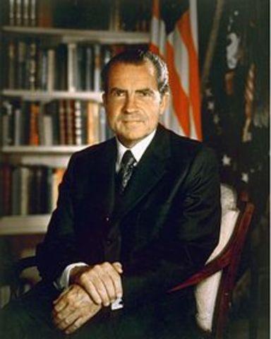 Dimisión de Richard Nixon