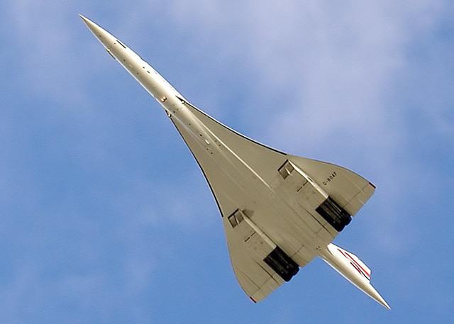 Primer vuelo del Concorde