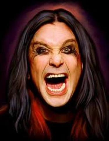 Ozzy Osbourne was born