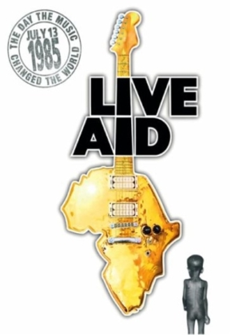 Ozzy performs at Lve Aid, the benefit concert for World Hunger