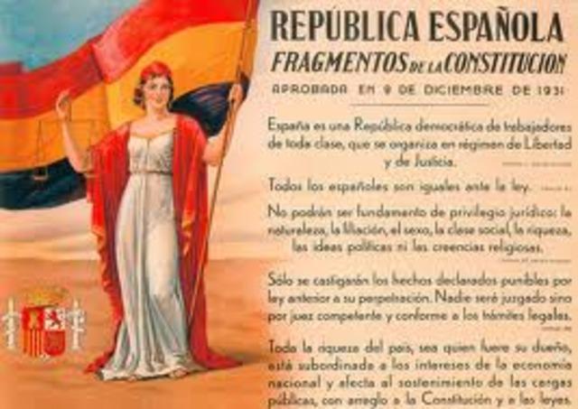 La constitución de 1931