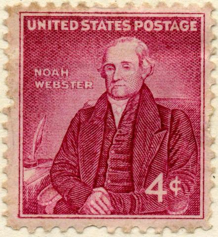 Noah Webster published a textbook.