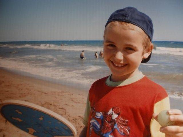 Quant tenia 7 anys.