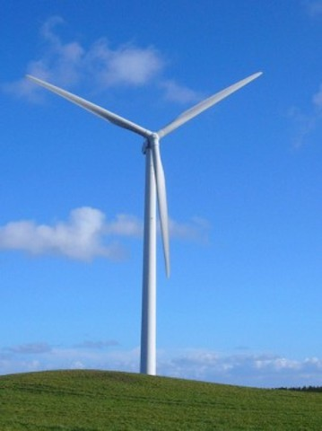Wind Power rises to 2.5% of worldwide power