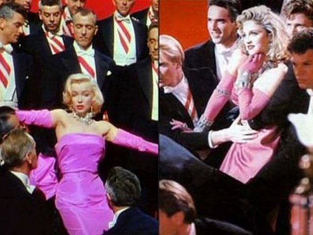 Marilyn Monroe - Diamonds Are A Girl's Bestfriend
