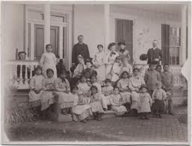 Establishment of Carlisle Indian School