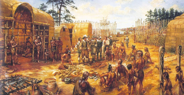 Native Americans and Jamestown