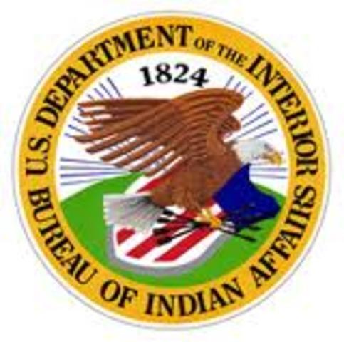 Creation of the Bureau of Indian Affairs (BIA)
