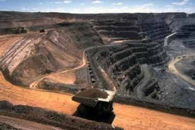 coal production begings
