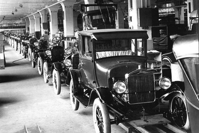 August 12 1908 Model T Automobile