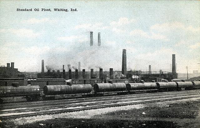 US dissolves standard oil 1911