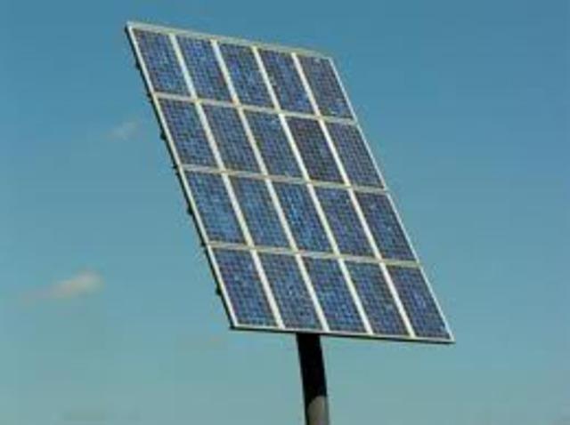 Solar Power first begins development