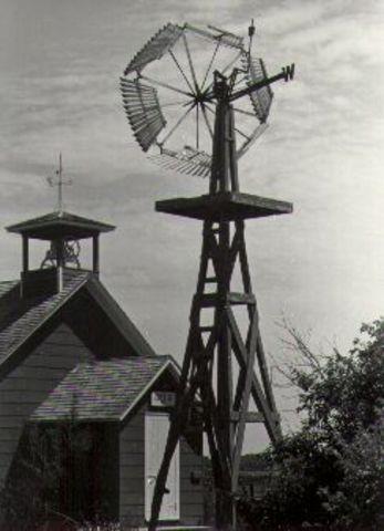 First Windmill in the U.S.