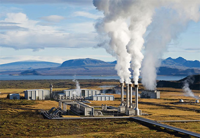 First Geothermal Power Plant Built