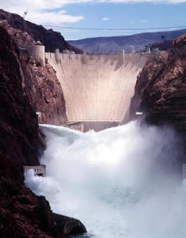 Hoover Dam Built