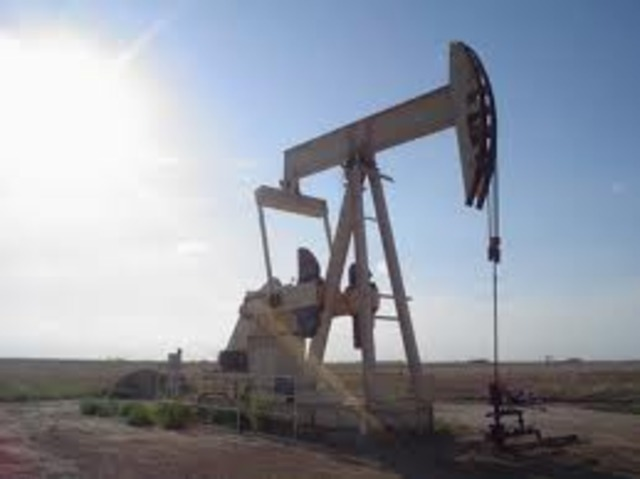 First Oil Well Dug in China