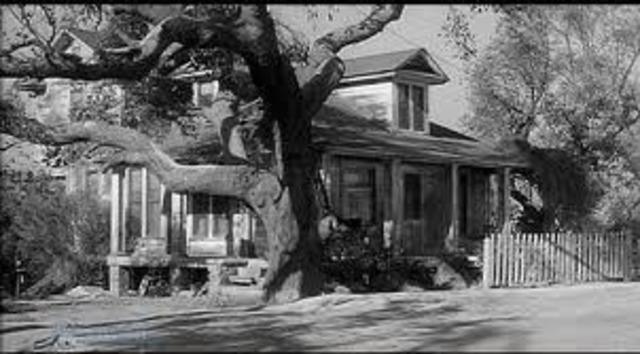 The Radleys' porch