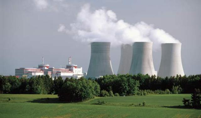 The first nuclear reactor begins to provide power to customers in Russa