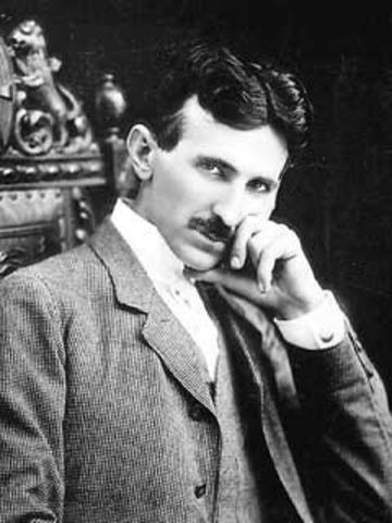 Nikola Tesla invents the Alternating Current (AC) electrical current system.