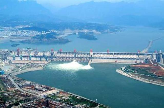The Three Gorges Dam was Built in China