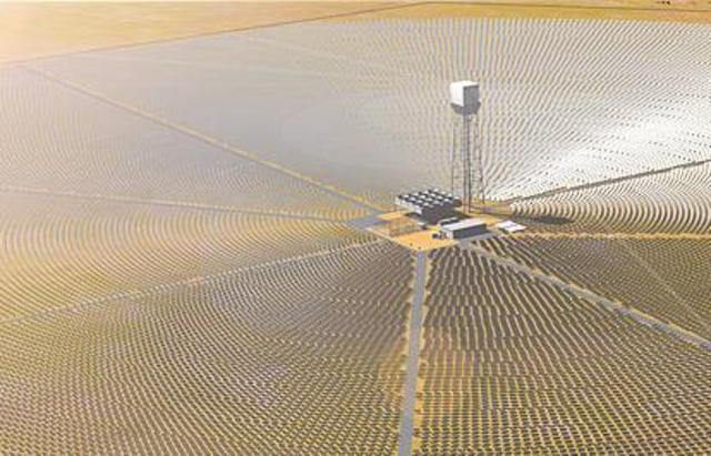 Solar Energy Generating Systems in the Mojave Desert