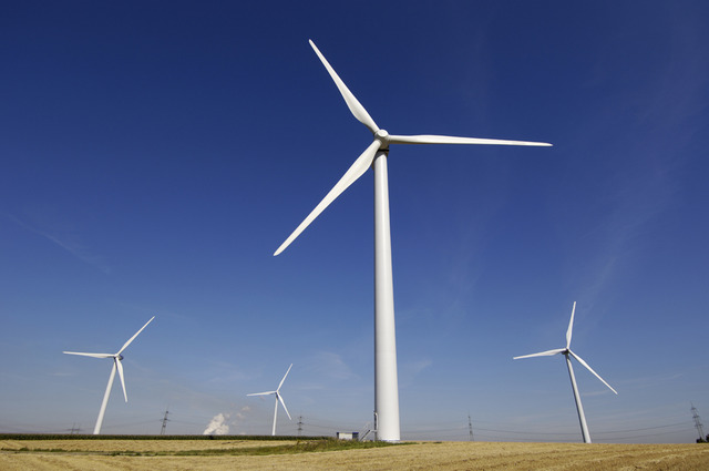 Wind power to Electricty