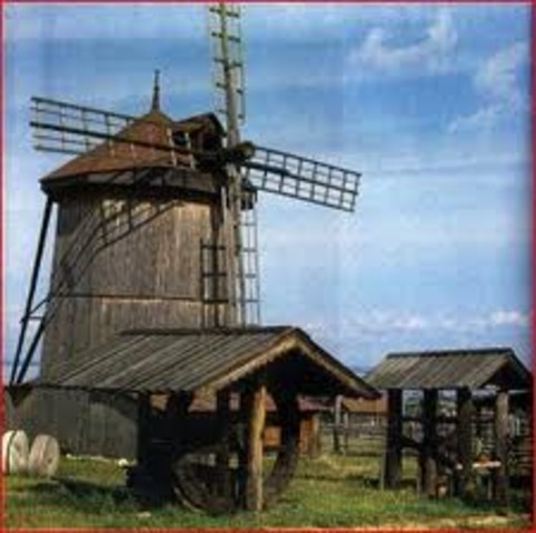 Windmills first introduced in Europe