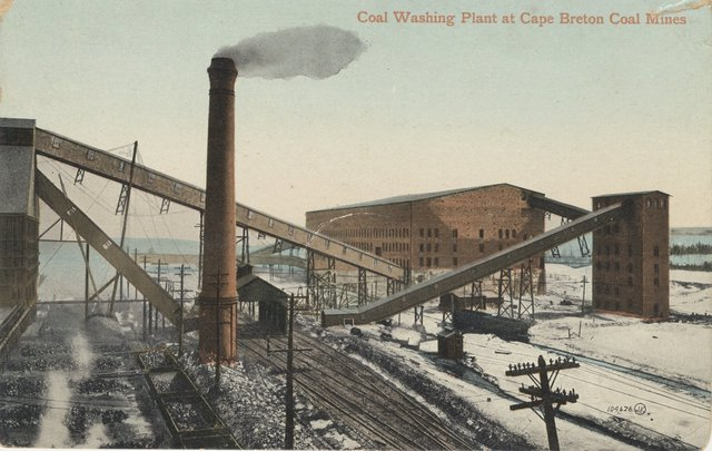 First Commercial Coal mining in the US
