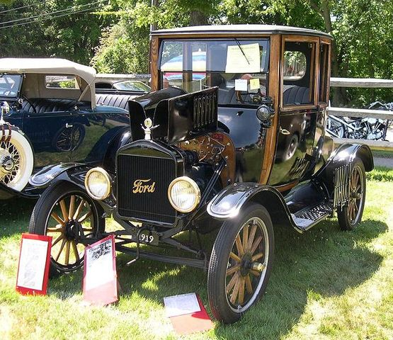 Model T Ford is Introduced
