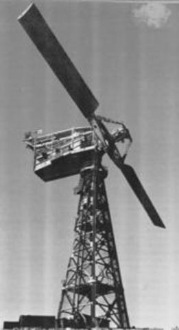 First windmill that generated eletricity