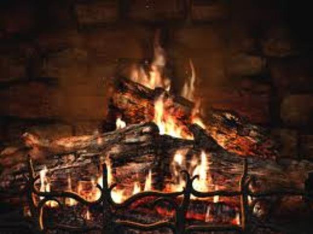 Wood Used to Heat Homes