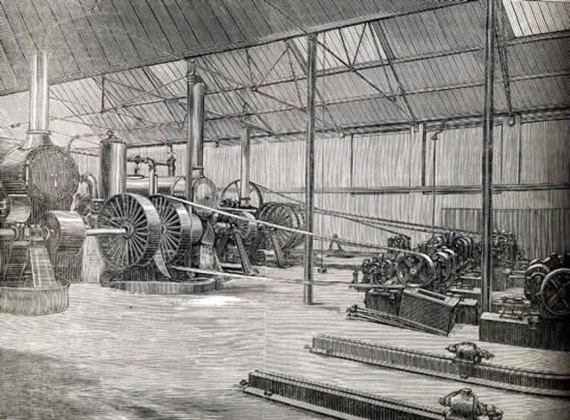 1st Coal-Fired Power Station