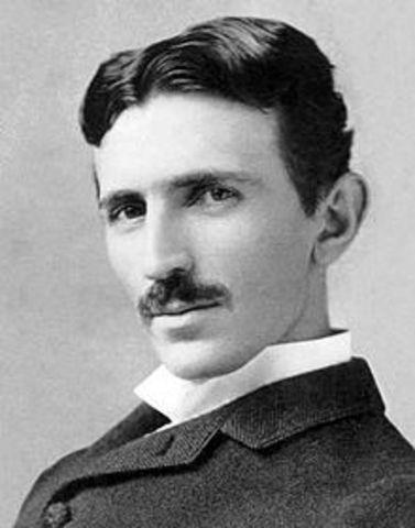 Tesla invents Alternating Current