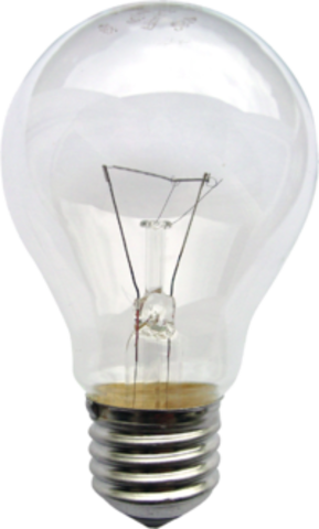 First Lightbulb Invented