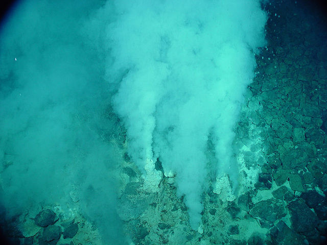 Hydrothermal vents invented