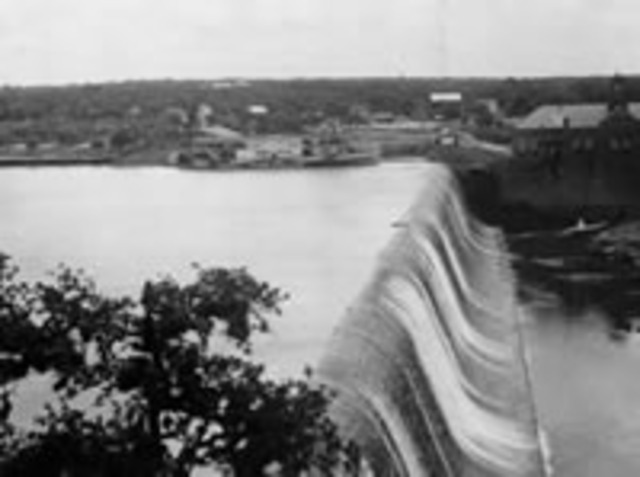 Austin Dam Completed