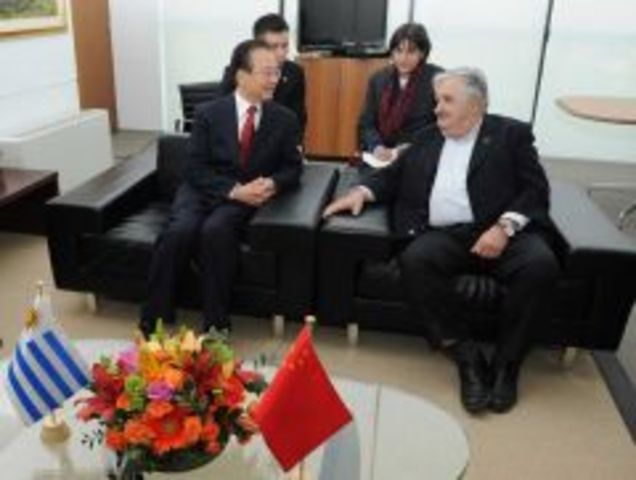 Uruguay hosts highest Chinese official to ever visit the country