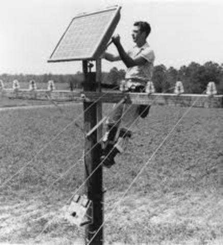 Solar cells invented