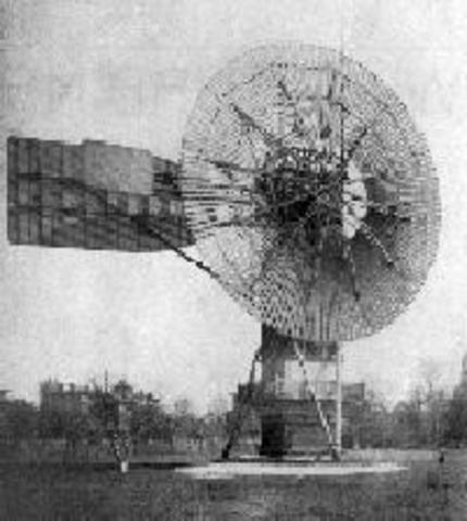 First Windmill for Electricty was Invented